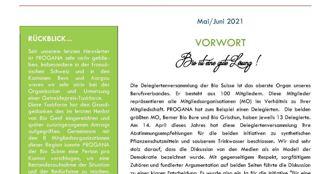 PROGANA präsentiert: Bio-Info Westschweiz!